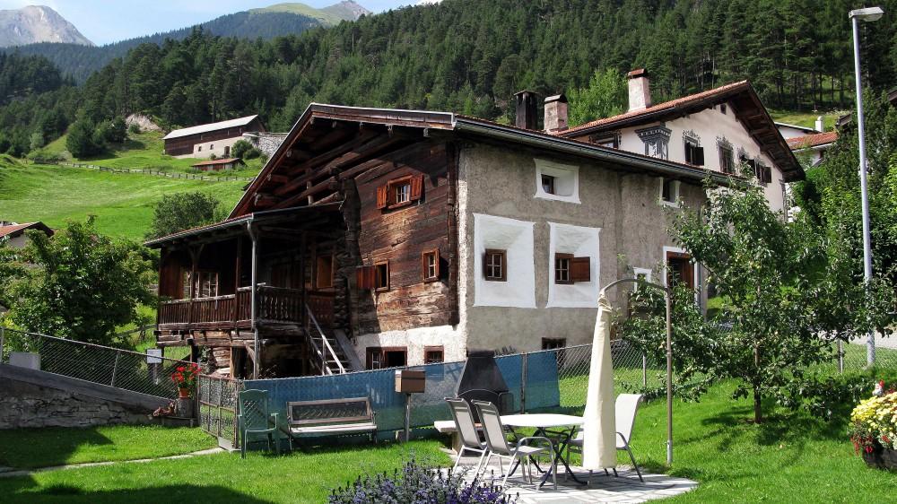 Ferien, Alvaneu-Dorf, Ferienwohnung, Walserhaus, Albula, Alvaneu, Graubünden, Ferienhaus